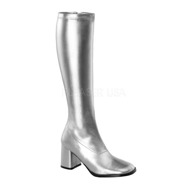 GOGO-300 botas de mujer plata talla 37 - 38