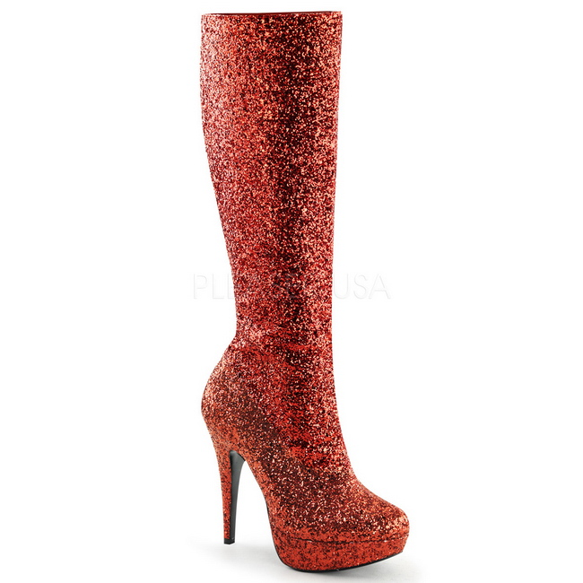 LOLITA-30 botas plataforma rojos talla 36 - 37
