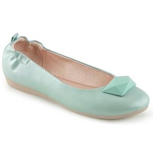 Azul OLIVE-08 bailarinas zapatos planos mujer