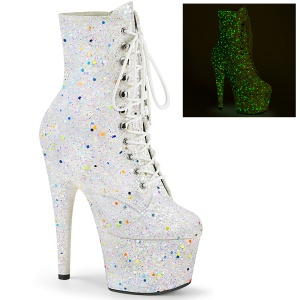 Blanco glitter 18 cm ADORE-1020GDLG botines mujer de pole dance