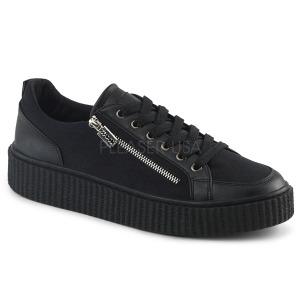 Lona 4 cm SNEEKER-105 Zapatos sneakers creepers hombres