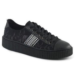 Lona 4 cm SNEEKER-106 Zapatos sneakers creepers hombres