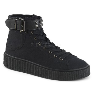 Lona 4 cm SNEEKER-255 Zapatos sneakers creepers hombres