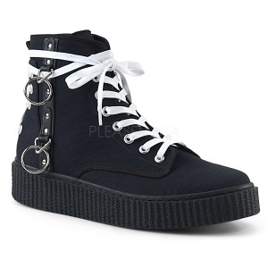 Lona 4 cm SNEEKER-256 Zapatos sneakers creepers hombres