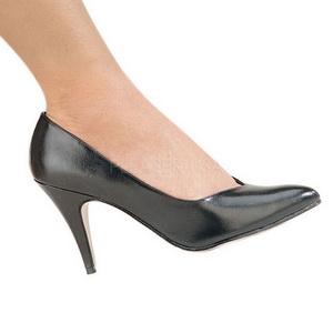 Negro Mate 10 cm DREAM-420 zapatos de salón tacón alto