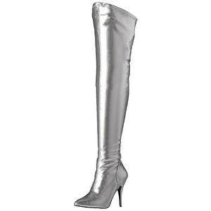 Plata Mate 13 cm SEDUCE-3000 over knee botas altas con tacón