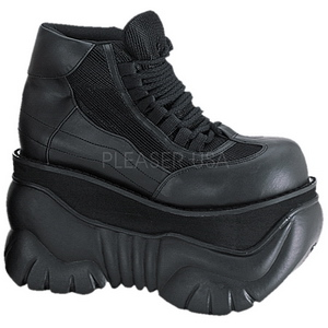 Polipiel 10 cm BOXER-01 Zapatos de Goticas Hombres Plataforma