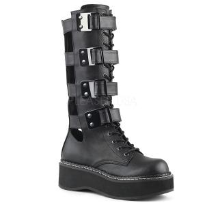 Polipiel 5 cm DEMONIA EMILY-359 botas plataforma góticos