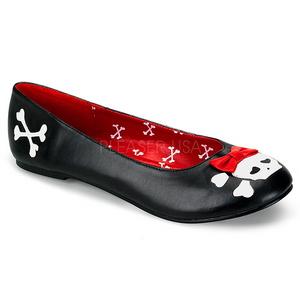 Polipiel PUNK-14 zapatos de bailarinas mujer planos