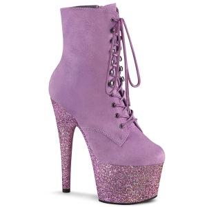Purpura glitter 18 cm ADORE-1020FSMG exotic botines de pole dance