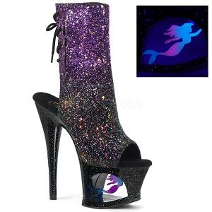 Purpura purpurina 18 cm MOON-1018MER botines de pole dance