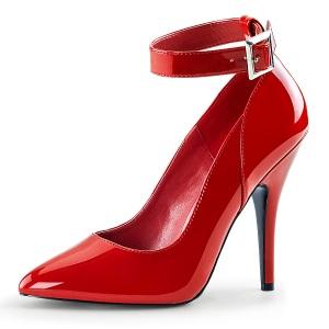 Rojo Charol 13 cm SEDUCE-431 Zapato de Stiletto para Hombres
