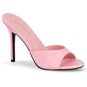 Rosa 10 cm CLASSIQUE-01 zuecos mujer tacón bajo