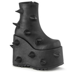 Vegano 18 cm SLAY-77 demonia botines alternativo plataforma negro