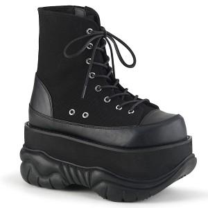 Vegano 7,5 cm NEPTUNE-115 botinhas demonia - botinhas plataforma unisex