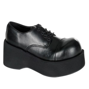 Vegano 8 cm DANK-101 demonia zapatos alternativo plataforma negro