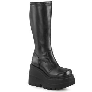 Veganos 11,5 cm SHAKER-65 demonia botas en cuña