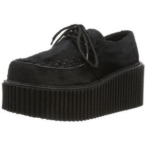 Zamarra 7,5 cm CREEPER-202 creepers zapatos mujeres con suela gruesa
