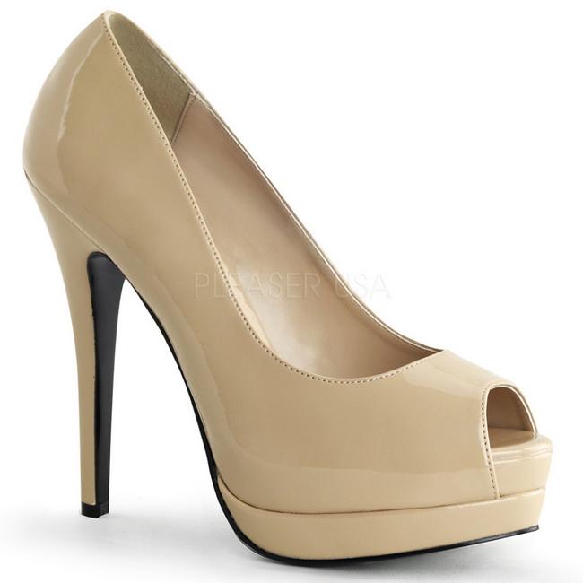 Beige charol 13 5 cm bella 12 stiletto zapatos tac n de aguja - Salon talon aiguille lausanne ...