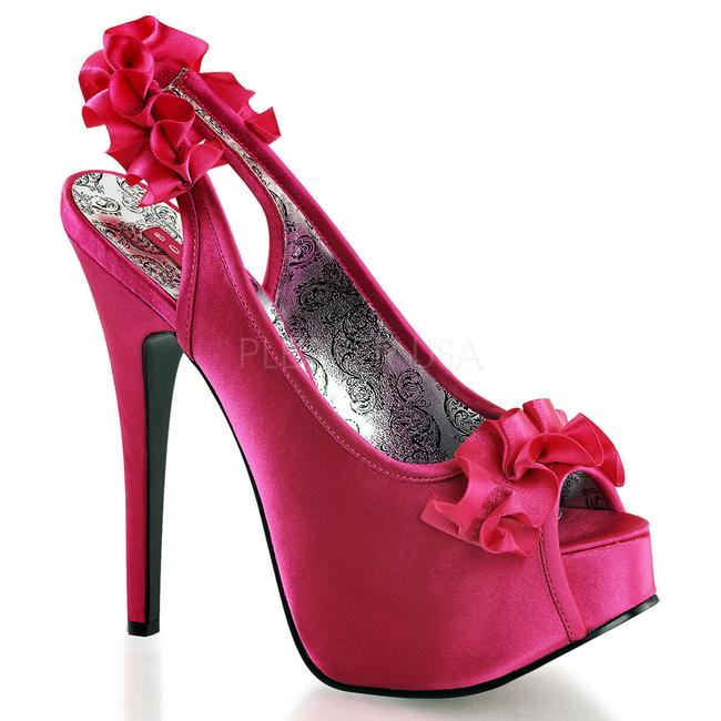Zapatos fucsia de tacón alto HOhb6u0KGw