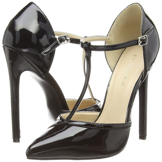Pleaser Sexy-27 - Zapatos Mujer, Negro (Negro), 36