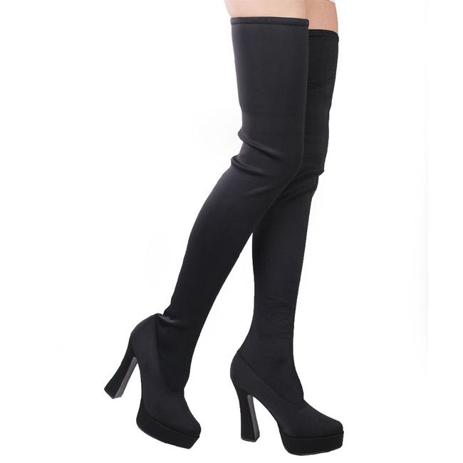 botas de mujer hasta la rodilla largas botas plataforma