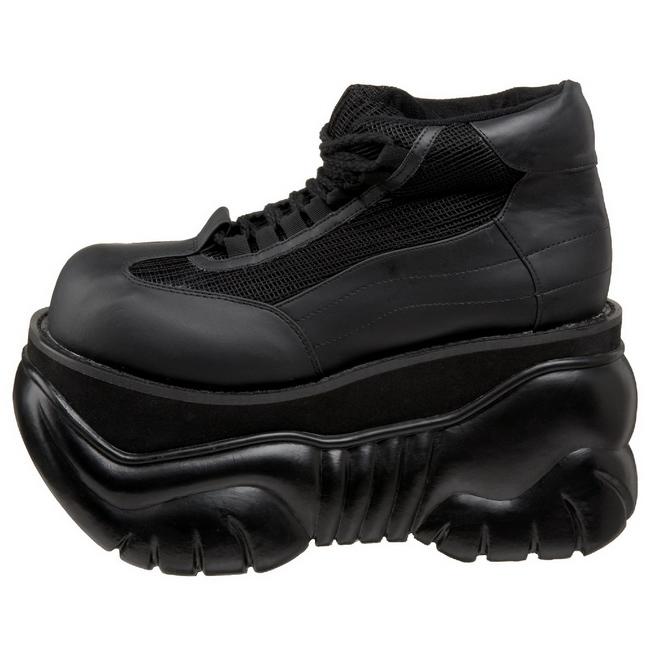 Zapatos 01 Polipiel Cm Boxer 10 De Hombres Plataforma Goticas EDWH9I2