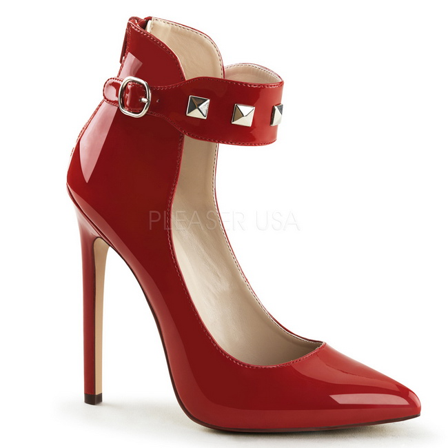 Zapatos rojos sexy Devious para mujer WxCLc8izMT