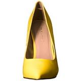 Amarillo Neon 13 cm AMUSE-20 zapatos tacón de aguja puntiagudos