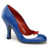 Azul 10,5 cm SMITTEN-05 Zapatos de tacón altos mujer