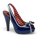Azul 11,5 cm BETTIE-05 Zapatos de tacón altos mujer