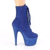 Azul glitter 18 cm ADORE-1020FSMG exotic botines de pole dance