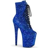 Azul glitter 20 cm FLAMINGO-1020GWR exotic botines de pole dance