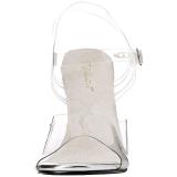 Blanco 11,5 cm FABULICIOUS GALA-08 Sandalias de tacón para fiesta