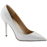 Blanco Charol 10 cm CLASSIQUE-20 Zapatos de Salón para Hombres