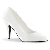 Blanco Charol 10 cm VANITY-420 Zapatos de Salón para Hombres