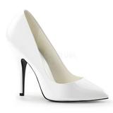 Blanco Charol 13 cm SEDUCE-420 Zapato de Salón para Hombres