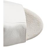 Blanco Lacado 18 cm Pleaser ADORE-1018 Plataforma Botines Altos