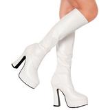 Blanco Mate 13 cm ELECTRA-2000Z Botas de mujer para Hombres