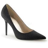 Brillo 10 cm CLASSIQUE-20G Stiletto Zapatos Tacón de Aguja