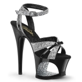 Brillo 18 cm Pleaser MOON-728 Platform High Heel Zapatos