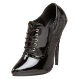 Charol 15 cm DOMINA-460 zapatos oxford con tacones altos