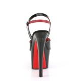 Charol 18 cm SKY-309TT sandalias pleaser con suela roja