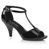 Charol 8 cm BELLE-371 Zapatos para travestis