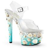 Concha 18 cm SKY-308MERMD Zapatos de Tacon Alto