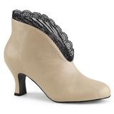 Crema Polipiel 7,5 cm JENNA-105 botines tallas grandes