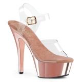 Cromo 18 cm Pleaser KISS-208 Zapatos Tacón Aguja Plataforma
