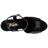 Cromo 25,5 cm BEYOND-009 zapatos de plataforma extremos - tacones extremos