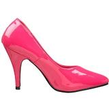 Fucsia Charol 10 cm DREAM-420 Zapatos de Salón para Hombres