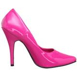 Fucsia Charol 13 cm SEDUCE-420 Zapatos de Salón para Hombres